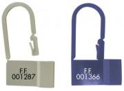 Scellé de sécurité pour armoire hôpital - Dimension platine (mm) : 13 x 25