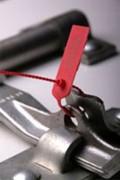 Scellé de Sécurité reglable - Fermeture réglable -en plastique à lacet cranté