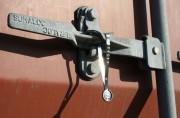 Scellé en feuillard métallique - Longueur totale (mm) : 215