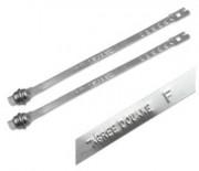 Scellé métallique à fermeture automatique longueur 215 mm - Scellés métalliques Tyden Seal