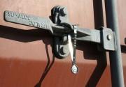 Scellé métallique à fermeture automatique longueur 240 mm
