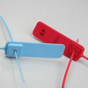 Scellé plastique tige lisse pour citernes - Longueur totale : 450 mm - Largeur : 2 mm