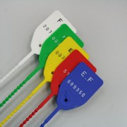 Scellé serrage plastique - À serrage progressif - scellé longueur 210 mm utile