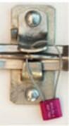 Scellés à cable - Fermeture réglable et automatique - câble en acier - corps en aluminium