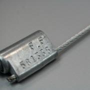 Scellés câble métallique - 3 diamètres possibles (mm) : 1.6 - 2.4 - 3.2