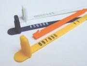 Scellés de sécurité à fermeture automatique - Scellé Plastique Sydex