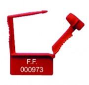 Scellés plastique cadenas - Scellé plastique 7001