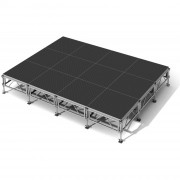 Scène Podium All Terrain™ - Capacité de charge : 1270 kg/m2 ou 750 kg/m2