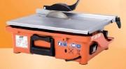 Scie à carrelage professionnelle - Profondeur de coupe maxi à 90°/45°: 40mm / 20mm