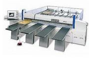 Scie à plat horizontale - Longueurs de coupe 3300- 3800- 4500 mm