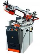 Scie à ruban biaise universelle - Semi automatique - Avance de sciage par étrangleur ou hydraulique