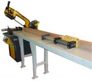 Scie à ruban métal - Rotation de la lame : 40 - 80 m par minute