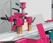 Scie avec coupes biaises pour aluminium TL 450 - Scie verticale à lame ascendante