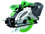 Scie circulaire Hitachi - Puissance à vide : 3400 tr/mn