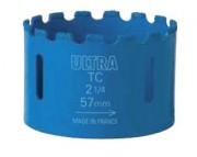 Scie-trépan à concrétion carbure - Profondeur de coupe (mm) : 35 - 40