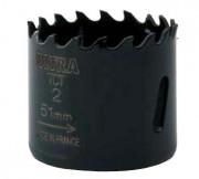 Scie trépans carbure - Profondeur de coupe (mm) : 34 - 38