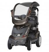 Scooter électrique PMR à toit amovible - Scooter 4 roues avec châssis suspendu pour confort maxi