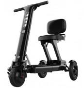 Scooter électrique PMR pliable 3 roues - Scooter PMR transportable en valise Trolley