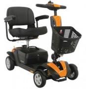Scooter électrique PMR suspensions avant et arrière - Scooter handicapés avec siège capitonné confortable