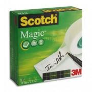 SCOTCH Ruban adhésif invisible 19mm x 33m, en boîte individuelle, 810 - Scotch