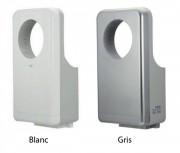 Seche main automatique circulaire en ABS - Puissance : 900 W - Temps de séchage : 7 à 12 secondes - Certifié SGS