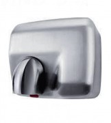 Sèche main mural automatique - Puissance : 2300 W - Niveau sonore : 70 dB - Temps de séchage 15 à 20 secondes