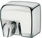 Sèche mains automatique en acier inox - Dimensions (L x l x h) : 284 x 248 x 202 mm