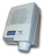Sèche mains électrique en ABS - Activation : Bouton-poussoir - Vitesse d'air : 75 km/h
