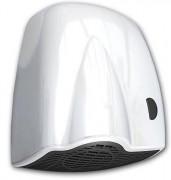 Sèche mains en ABS à bouton poussoir - Activation : Bouton-poussoir - Vitesse d'air : 75 km/h