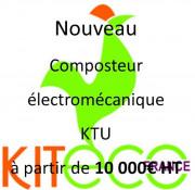Composteur électromécanique - L'ADEME aide à hauteur de 35 % à 70% de subvention les producteurs de biodéchets