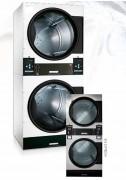 Séchoir a linge empilé - Puissance chauffage : 2x 21 kW - capacité jusqu'à: 2x 16.8 Kg