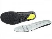 Semelles gel pour chaussures - Matières : polyester hydrophile - Capsule en gel