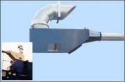 Séparateur à déchets et air - Extraction par air