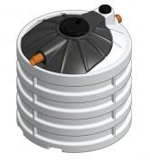 Séparateur de graisses 90 à 220 Litres - Enterre - Norme Uni EN 1825-1