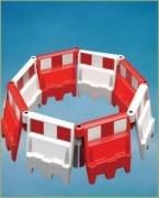 Séparateur de voie empilable - Séparateur empilable et résistant