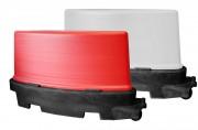 Séparateur de voies PVC - Dimensions (L x l x H) mm : 1140 x 600 x 300
