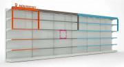 Séparateur étagère magasin - Système de rangement des rayons