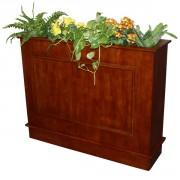 Séparateur floral bois - Dimension (LxpxH) cm : 93 x 33 x 118