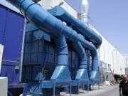 Séparation brouillards d'huile - Dèbit 70.000 m3/h