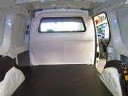 Séparation cabine véhicule utilitaire
