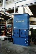 Séparation des brouillards d'huile implantation minicompact 2.000 m3 par heure - Débit 2.000 m3/h