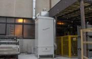 Séparation des brouillards d'huile minicompact S 10.000 m3 par heure - Débit 10.000 m3/h
