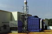 Séparation des brouillards d'hulie implantation compacte débit 30.000 m3 par heure - Dèbit 30.000 m3/h