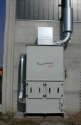 Séparation huile implantation minicompact - Débit 2.800 m3/h