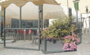 Séparation terrasse avec jardinière