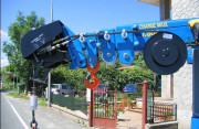 Série de treuils hydrauliques avec charges utiles de 200 kg à 50 T - Charges utiles allant de 200 kg à 50 T - Installation simple