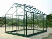 Serre de jardin en verre trempé - Surface :4.65 - 5.77 - 8.88 m²