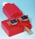 Serrure à pêne à 2 entrées de clé pour verrouillage des énergies - Verrouillage de circuits