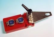 Serrure d'acces inox à 2 entrées de clé - Verrouillage d'accès XO1LTC