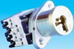 Serrure rotative 3 postitions - Verrouillage d'un circuit
